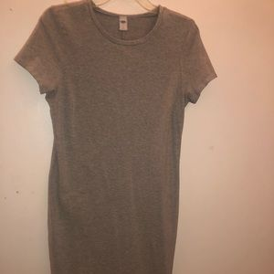 Grey Old Navy Dress